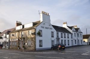Exterior view of The Ship Inn in Gatehouse of Fleet
