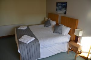 Large double bedroom in The Ship Inn, Gatehouse of Fleet