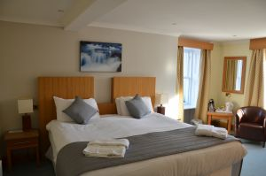 Spacious bedroom in The Ship Inn, Gatehouse of Fleet