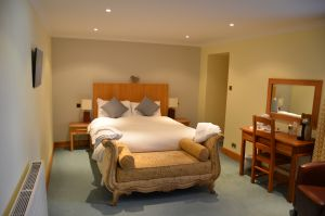 Double bedroom in The Ship Inn, Gatehouse of Fleet